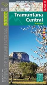 MALLORCA TRAMUNTANA Centralne GR11 mapa z przewodnikiem 1:25 000 ALPINA