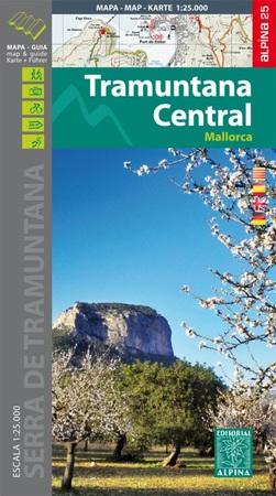 MALLORCA TRAMUNTANA Centralne GR11 mapa z przewodnikiem 1:25 000 ALPINA (1)