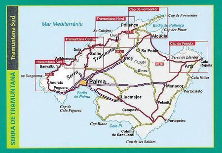 MALLORCA TRAMUNTANA Południe G11 mapa z przewodnikiem 1:25 000 ALPINA (4)