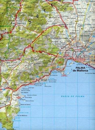 MAJORKA wodoodporna mapa rowerowa 1:75 000 ADFC (2)