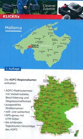MAJORKA wodoodporna mapa rowerowa 1:75 000 ADFC (3)