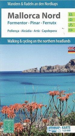 MAJORKA PÓŁNOCNA mapa turystyczna i rowerowa 1:25 000 ALPINA (1)