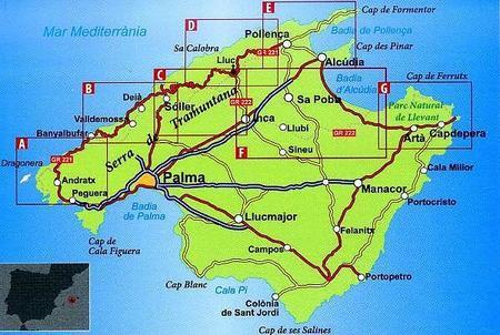 MAJORKA Mallorca hiking guide GR221-GR222 1:50 000 ALPINA 2020 (2)