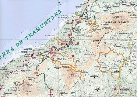 MAJORKA Mallorca hiking guide GR221-GR222 1:50 000 ALPINA 2020 (3)