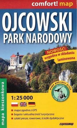 OJCOWSKI PARK NARODOWY mapa laminowana 1:25 000 EXPRESSMAP 2021 (1)
