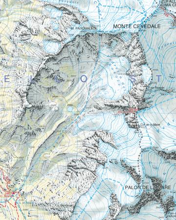 008 ORTLES - CEVADALE - ORTLERGEBIET mapa turystyczna 1:25 000 TABACCO 2020 (3)