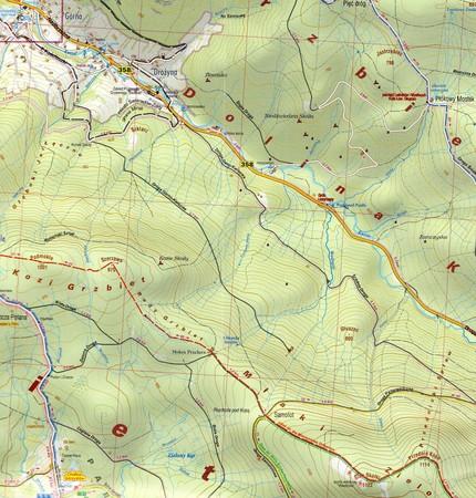 GÓRY IZERSKIE IZERY mapa laminowana 1:25 000 PLAN 2021 (4)