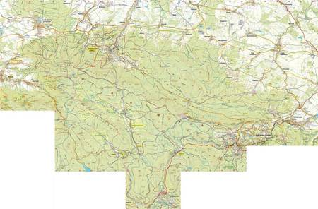 GÓRY IZERSKIE IZERY mapa laminowana 1:25 000 PLAN 2021 (5)