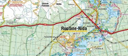 WIELKIE JEZIORA MAZURSKIE mapa turystyczna laminowana COMPASS 2021 (3)