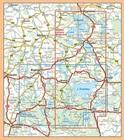 WIELKIE JEZIORA MAZURSKIE mapa turystyczna laminowana COMPASS 2021 (2)