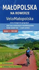 MAŁOPOLSKA NA ROWERZE VeloMałopolska mapa rowerowa COMPASS 2021