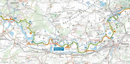 MAŁOPOLSKA NA ROWERZE VeloMałopolska mapa rowerowa COMPASS 2021 (3)