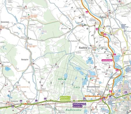 MAŁOPOLSKA NA ROWERZE VeloMałopolska mapa rowerowa COMPASS 2021 (4)