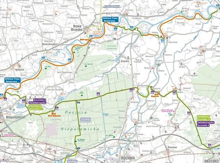 MAŁOPOLSKA NA ROWERZE VeloMałopolska mapa rowerowa COMPASS 2021 (5)