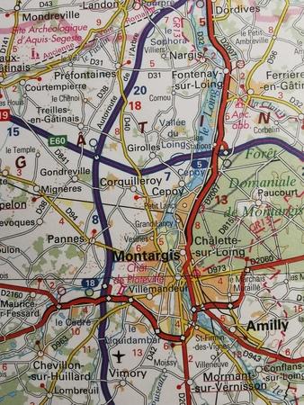 ILE-DE-FRANCE mapa 1:200 000 IGN 2020 (3)