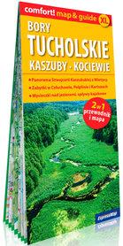 BORY TUCHOLSKIE KASZUBY KOCIEWIE 2w1 przewodnik i mapa EXPRESSMAP 2021