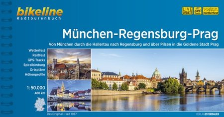 MONACHIUM - REGENSBURG - PRAGA atlas rowerowy BIKELINE 2021 (1)