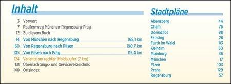 MONACHIUM - REGENSBURG - PRAGA atlas rowerowy BIKELINE 2021 (3)