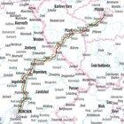 MONACHIUM - REGENSBURG - PRAGA atlas rowerowy BIKELINE 2021 (4)