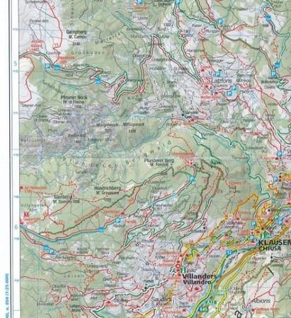 DOLOMITY WK672 mapy turystyczne 1:35 000 KOMPASS (3)