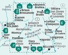DOLOMITY WK672 mapy turystyczne 1:35 000 KOMPASS (2)