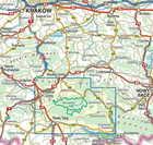 GORCE mapa laminowana 1:40 000 COMPASS 2021 (3)