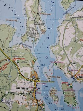 POJEZIERZE IŁAWSKIE WZGÓRZA DYLEWSKIE mapa 1:50 000 COMPASS 2021 (4)