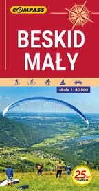 BESKID MAŁY mapa turystyczna 1:40 000 COMPASS 2021
