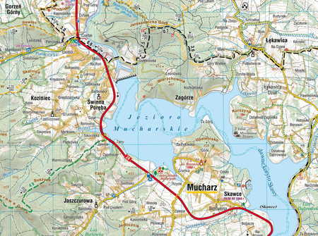 BESKID MAŁY mapa turystyczna 1:40 000 COMPASS 2021 (3)