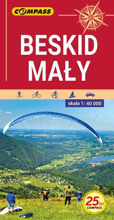 BESKID MAŁY mapa turystyczna 1:40 000 COMPASS 2021 (1)