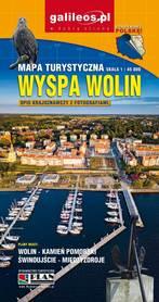 WYSPA WOLIN mapa turystyczna 1:45 000 STUDIO PLAN 2021
