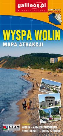 WYSPA WOLIN mapa turystyczna 1:45 000 STUDIO PLAN 2021 (2)