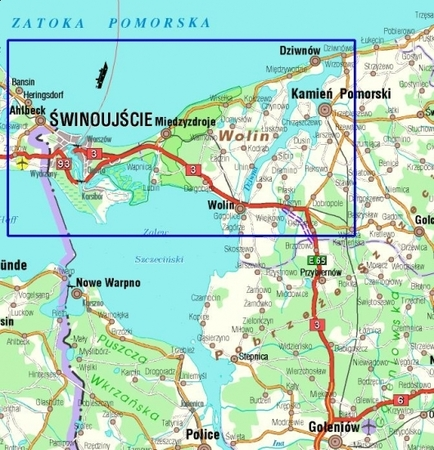WYSPA WOLIN mapa turystyczna 1:45 000 STUDIO PLAN 2021 (4)