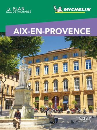 AIX EN PROVENCE przewodnik z planem miasta MICHELIN 2021 WER. FRANCUSKA (1)