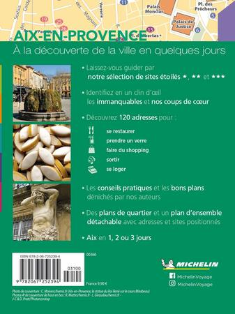 AIX EN PROVENCE przewodnik z planem miasta MICHELIN 2021 WER. FRANCUSKA (2)