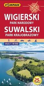 WIGIERSKI PN - SUWALSKI PK mapa turystyczna 1:40 000 COMPASS 2021
