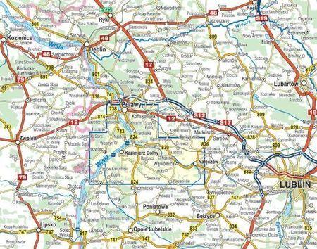 KAZIMIERZ DOLNY i okolice mapa 1:35 000 COMPASS 2021 (2)