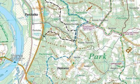 KAZIMIERZ DOLNY i okolice mapa laminowana 1:35 000 COMPASS 2021 (3)