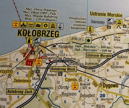 ZACHODNIO-POMORSKIE mapa podróżownik 1:250 000 DEMART 2020 (3)