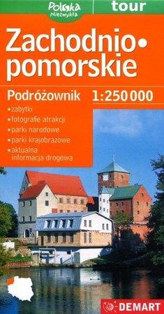 ZACHODNIO-POMORSKIE mapa podróżownik 1:250 000 DEMART 2020 (1)