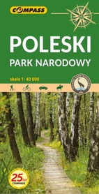 POLESKI PARK NARODOWY mapa turystyczna 1:40 000 COMPASS 2021