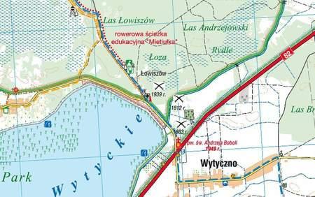 POLESKI PARK NARODOWY mapa turystyczna 1:40 000 COMPASS 2021 (2)