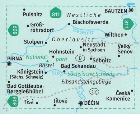 SZWAJCARIA SAKSOŃSKA  WK 810 mapa turystyczna KOMPASS 2021 (2)