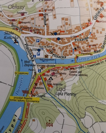 PIENINY SZCZAWNICA KROŚCIENKO ilustrowany przewodnik z mapami STUDIO PLAN 2021 (3)