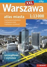 WARSZAWA XXL atlas DEMART