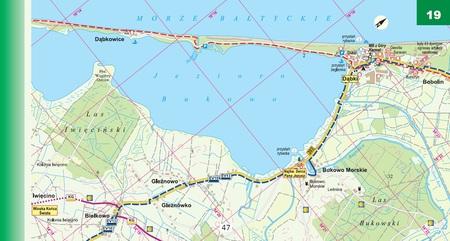 WYBRZEŻE BAŁTYKU atlas rowerowy 1:50 000 EKOGRAF 2021 (3)