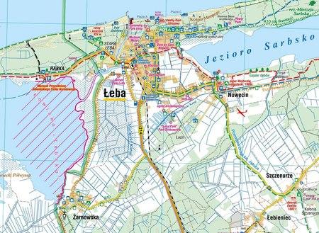 WYBRZEŻE SŁOWIŃSKIE SŁOWIŃSKI PN mapa laminowana COMPASS 2021 (2)