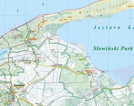 WYBRZEŻE SŁOWIŃSKIE SŁOWIŃSKI PN mapa laminowana COMPASS 2021 (3)