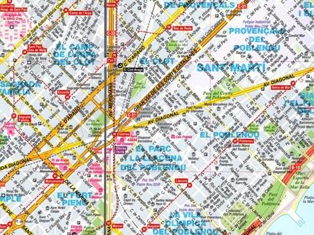 BARCELONA plan miasta laminowany EXPRESSMAP 2020 (2)