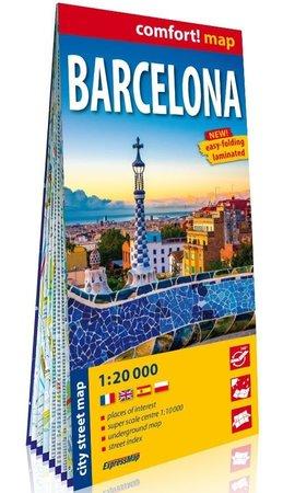 BARCELONA plan miasta laminowany EXPRESSMAP 2020 (1)